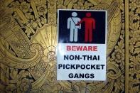 Von einheimischen Pickpocket Gangs geht natürlich keine Gefahr aus