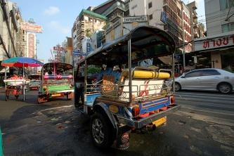 Chinatown am Morgen