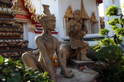 Wat Pho Bewohner