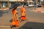 Mönche in Vientiane
