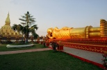 That Luang und Buddha