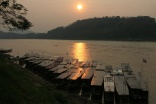 Sunset am Mekong 1