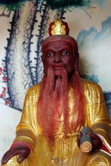Chinesischer Tempelbewohner