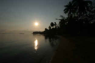 Endlich: Ein Sonnenaufgang