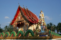 Der örtliche Tempel