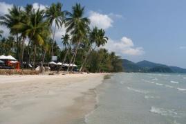 Klong Prao Beach im Norden von K.B.