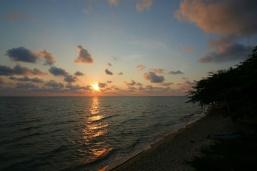 Sunset am White Sand Beach