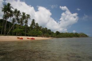Fast einsame Insel