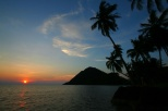 Letzter Sonnenuntergang auf Koh Chang
