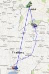 1x Laos und zurück