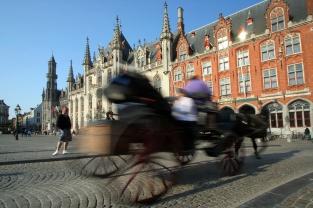 Pferdekutschen überall