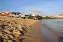 Am Strand von Vila Nova