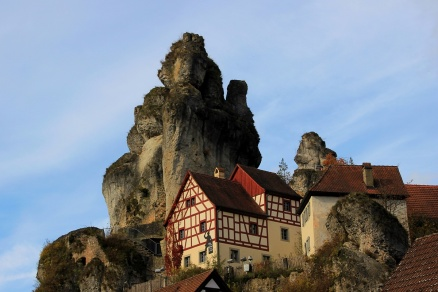 Markant am Fels: Das fränkische Schweiz Museum