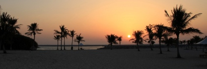 Al Mamzar Sunset