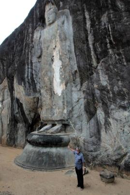 Beeindruckende Buddhas und Hadi