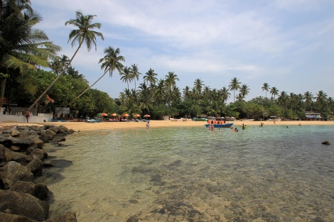 Unawatuna Beach am Morgen