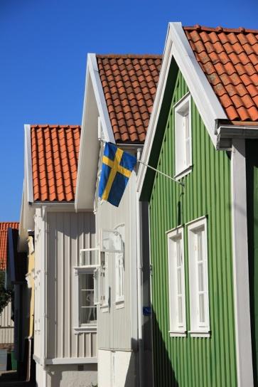 Altstadt Lysekil - grün ist das neue rot
