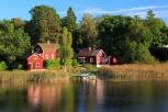 Köpmannebro am Vänern See