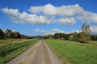 Autobahn auf dem Lande