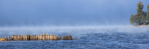 Magischer Morgensee