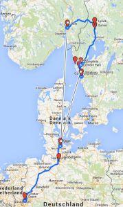 ROUTE-SchwedenNorwegen2014