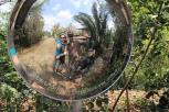 Familie im Spiegel