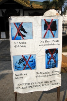 Jetzt ist es amtlich: Socken verboten