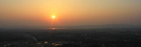 Sunset am Mandaly Hill