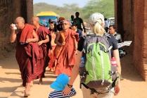 Mönche auf Reisen