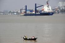 Der Yangon River ist für alle da