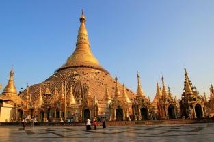 Die Shwedagon Pagode