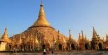 Die legendäre Shwedagon Pagode