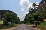 Nebenstraße nach Phang Nga