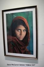Die wohl bekannteste Aufnahme von Steve McCurry, die schon über 30 Jahre auf dem Buckel hat