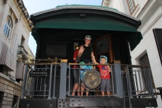 Auch alte Züge haben ihren festen Platz in der Altstadt