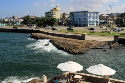 Malecón am Ende