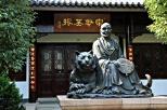 Zhifeng He und sein Tiger
