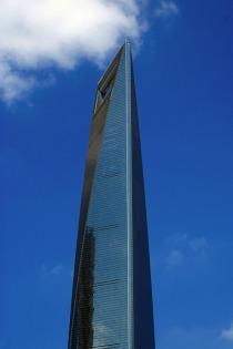 """Shanghai World Financial Center (aka """"Flaschenöffner"""")"""