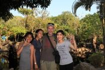 Tourist als Touristenattraktion