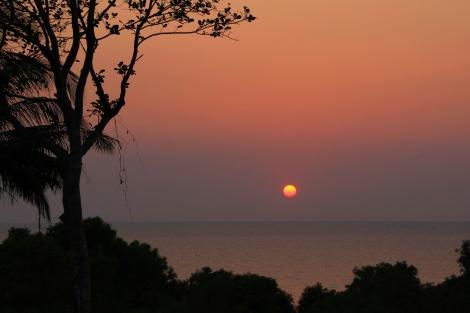 Seitenwechsel - gerade rechtzeitig zum Sunset