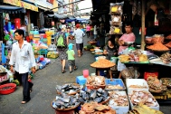 Chau Doc Markttreiben