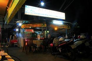 Mekong Dinner vor dem Mekong Trip