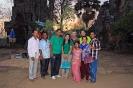 Gruppenfoto mit den letzten Gästen