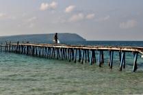 Hochbetrieb auf dem Pier