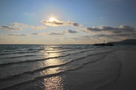 Sunset am Long Beach