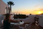 Vino zum Sunset