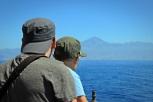 Treuer Begleiter des gesamten Trips: Der Teide