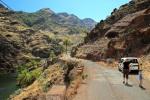 Der steile Weg nach La Laja