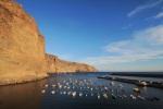 Unsere neue Heimat für die nächsten Tage: Der Hafen von Vueltas