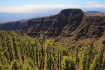 Blick gen Süden vom Mirador de Igualero